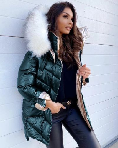 Metalize Puffer Jacket