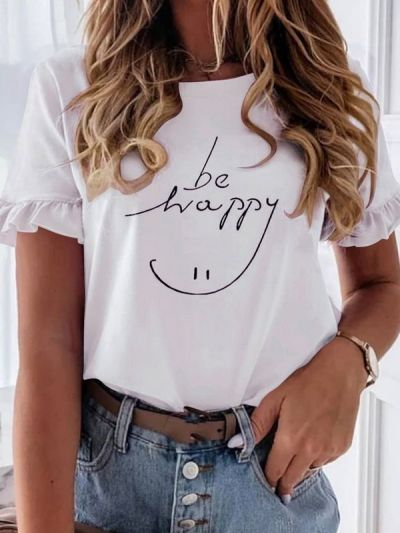 Happy T-Shirt Cotton